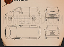 Hyundai Starex Blueprint