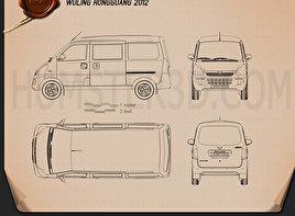 Wuling Rongguang 2012 Blueprint