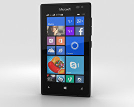 3D model of Microsoft Lumia 435 Black
