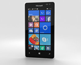 Microsoft Lumia 435 White 3D model