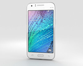 3D model of Samsung Galaxy J1 White