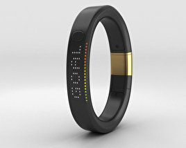 Nike+ FuelBand SE Metaluxe Limited Yellow Gold Edition 3D model