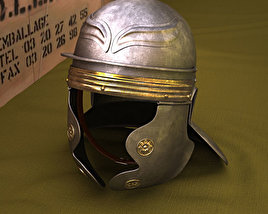 3D model of Roman Legionnaire Helmet