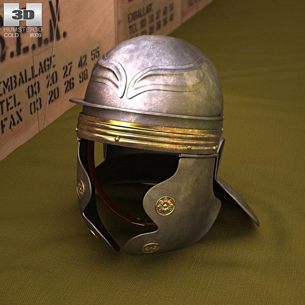 3D model of Roman Legionnaire Helmet