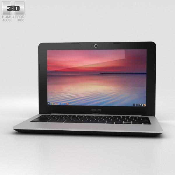 Asus Chromebook C200 3D model
