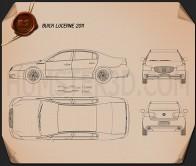 Buick Lucerne 2011 Blueprint