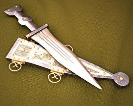 3D model of Pugio