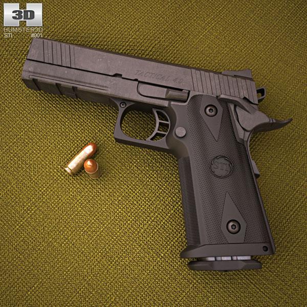 STI Tactical 4.0 3D model