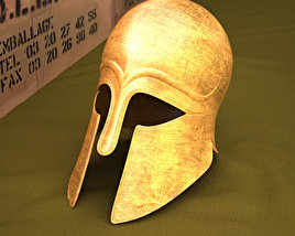 3D model of Corinthian Helmet