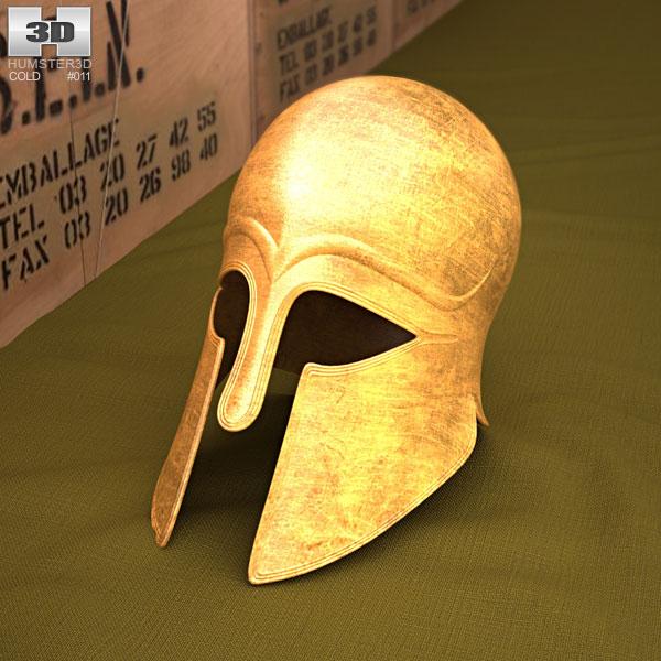 3D model of Corinthian Helmet