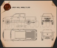 Great Wall Wingle 2010 Blueprint