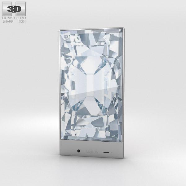 Sharp Aquos Crystal Pink 3D model