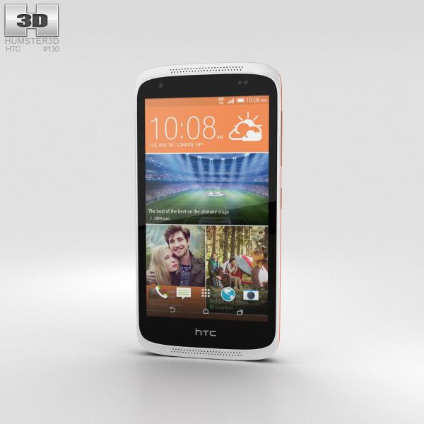 HTC Desire 526G+ Fervor Red 3D model