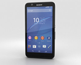 3D model of Sony Xperia E4 Black