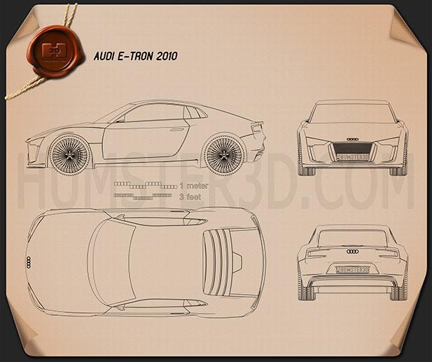 Audi e-tron Blueprint