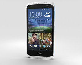 3D model of HTC Desire 526G+ Glacier Blue