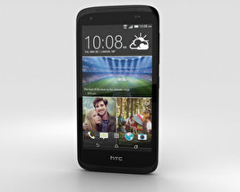 3D model of HTC Desire 526G+ Stealth Black