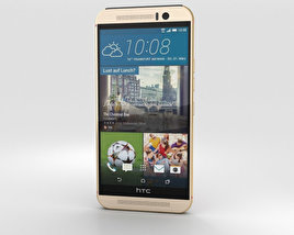 3D model of HTC One (M9) Gold/Pink