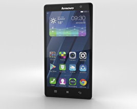 3D model of Lenovo P90 Onyx Black