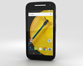 3D model of Motorola Moto E (2nd Gen.) Black