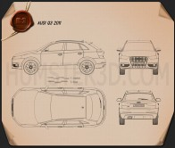 Audi Q3 2011 Blueprint
