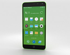 Meizu M1 Note Green 3D model
