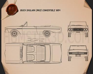 Buick Skylark convertible 1964 Blueprint
