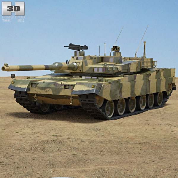 K2 Black Panther 3D model
