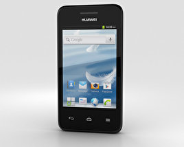 3D model of Huawei Ascend Y220 Black