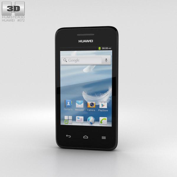 Huawei Ascend Y220 Black 3D model