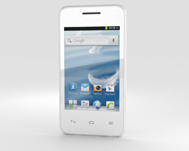 3D model of Huawei Ascend Y220 White