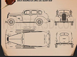 Buick Roadmaster 1936 Blueprint