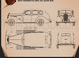 Buick Roadmaster 1936 Blueprint