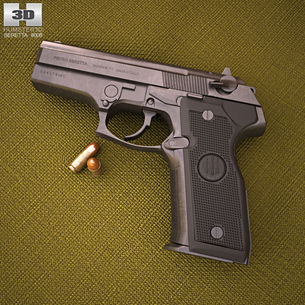 Beretta 8000 Cougar 3D model
