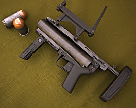 3D model of Heckler & Koch M320 GLM