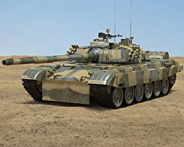 3D model of PT-91 Twardy