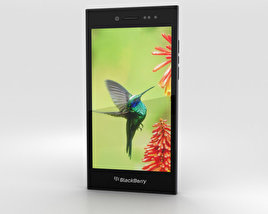 3D model of BlackBerry Leap Black
