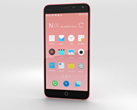 3D model of Meizu M1 Note Pink