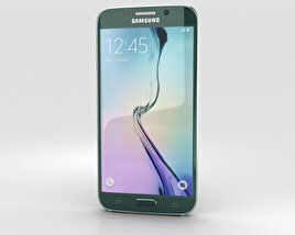 Samsung Galaxy S6 Edge Green Emerald 3D model