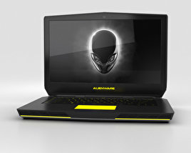 3D model of Dell Alienware 15