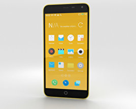 3D model of Meizu M1 Note Yellow