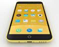 Meizu M1 Note Yellow 3d model