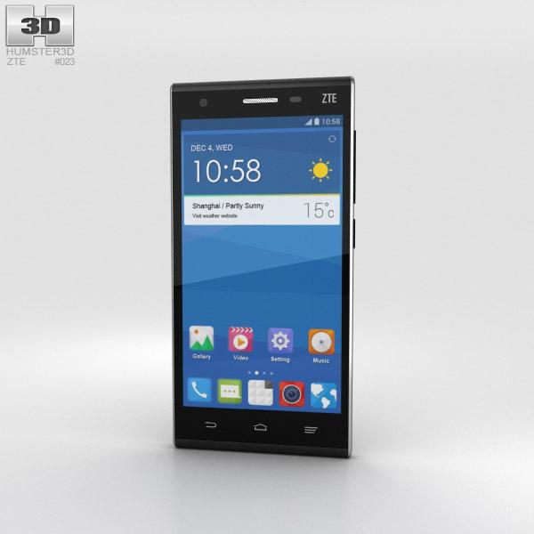 ZTE Star II Black 3D model