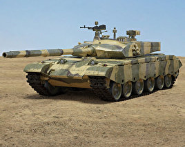 3D model of Type 99