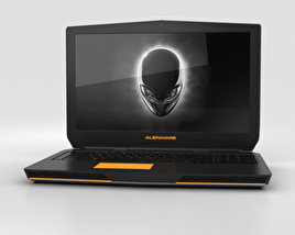 3D model of Dell Alienware 17