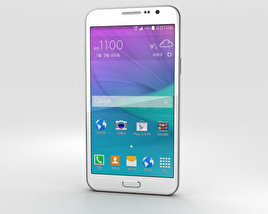 Samsung Galaxy Grand Max White 3D model