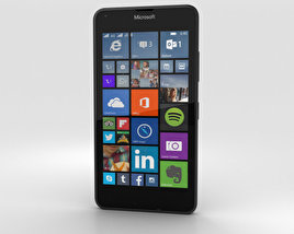 3D model of Microsoft Lumia 640 LTE Matte Black