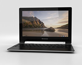 3D model of Lenovo N20p Chromebook