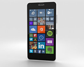 3D model of Microsoft Lumia 640 LTE White