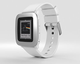 3D model of Pebble Time White